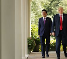 Donald Trump claims Japan's prime minister has nominated him for Nobel Peace Prize