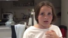 Parents film daughter's unexpected reaction to pregnancy