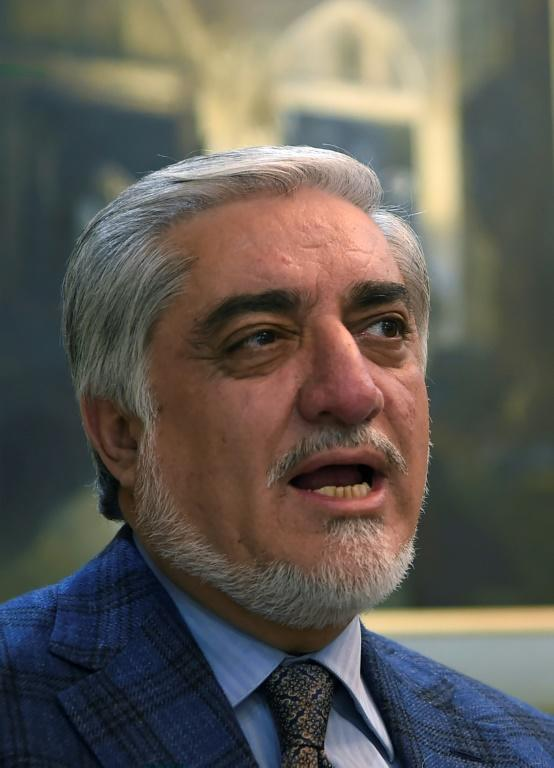 Afghan Chief Executive Abdullah Abdullah called into question the validity of thousands of votes from the recent presidential election (AFP Photo/WAKIL KOHSAR)