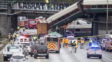 Amtrak train derails in Washington state, leaving at least 3 dead