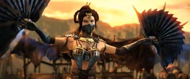 New Mortal Kombat X Trailer Offers First Look At Kitana And Her