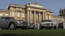 Luxury cars unveiled at Blenheim Palace