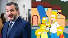 How 'The Simpsons' predicted Ted Cruz flying to Mexico as Texas battles winter storms