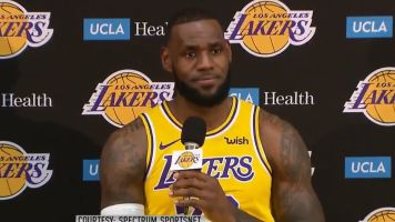 LeBron: Lakers a 'long way' from Warriors' level