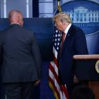 A shooting, the president snatched away - this episode of 'The Trump Show' was surreal even for veteran White House reporters