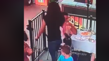 Woman returns painting to restaurant after footage of the theft was posted to Facebook