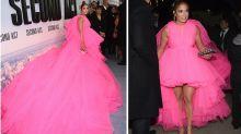 Tüll-Alarm bei Jennifer Lopez: Dieses Kleid passt nur in einen Bus