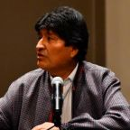 Bolivia's Evo Morales lands in Argentina after being granted asylum