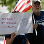 'It's killing us': How anti-maskers in America's worst-hit states are fighting face covering orders