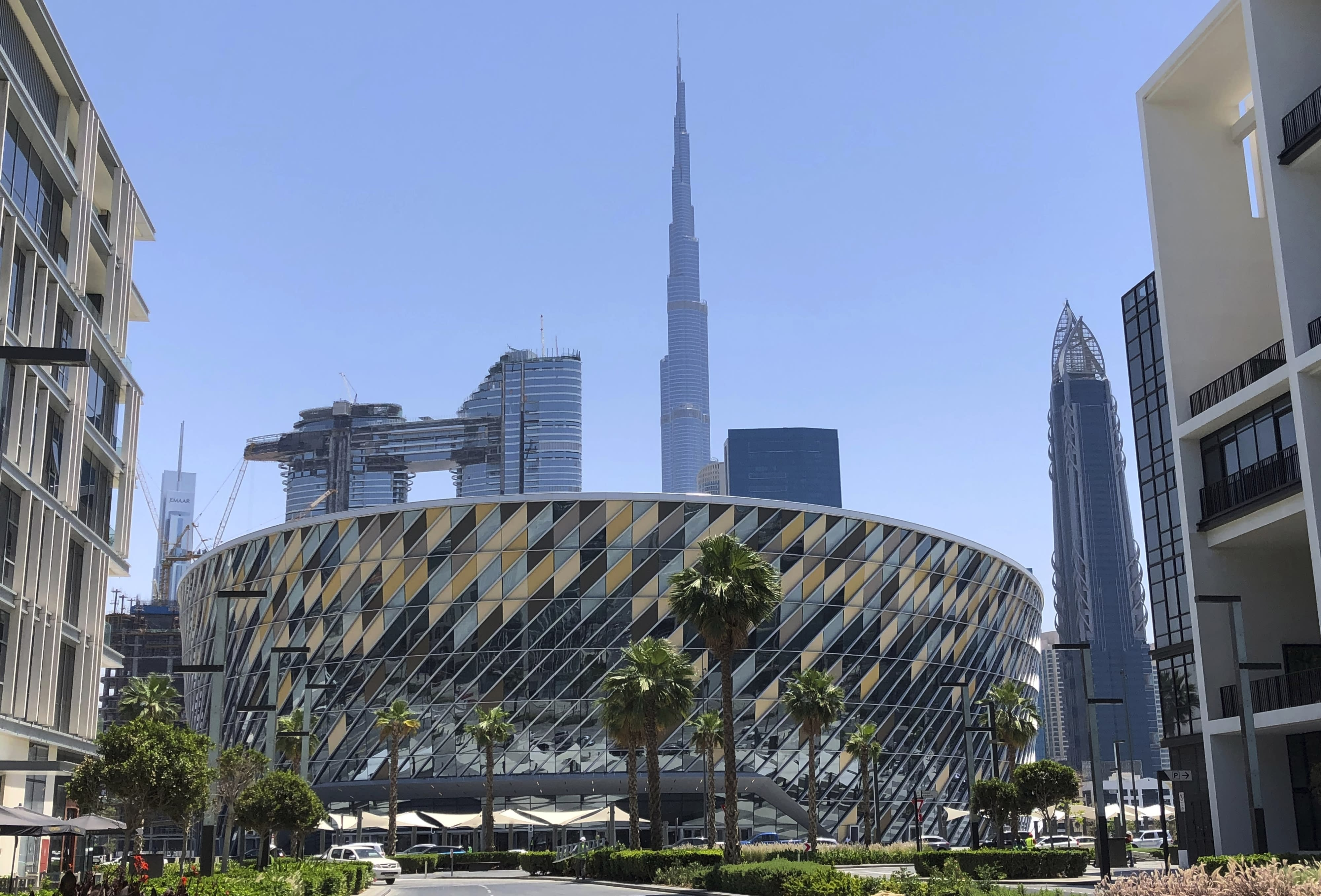 Dubai arena is latest project unveiled despite weaker growth