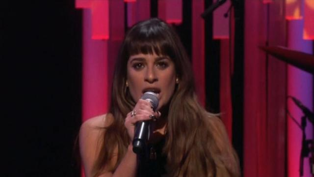 'Glee' Star Lea Michele Opens Up on Coping With Loss of Cory Monteith