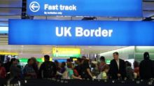 EU immigration to Britain falls to five-year low - ONS figures