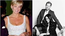¿Le hace un guiño Meghan Markle a la princesa Diana en su último posado?