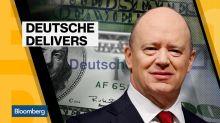 Deutsche Bank Ends Bonus Drought
