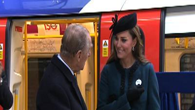 Pregnant Kate Gets 'Baby on Board' Badge