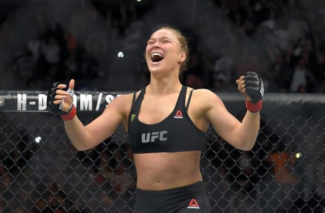 UFC doesn't want you posting Ronda Rousey fights on Instagram