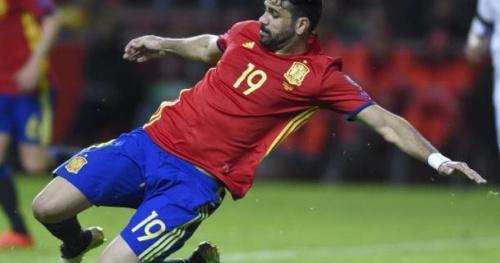 Foot - ESP - Espagne : Diego Costa s'est blessé à l'entraînement