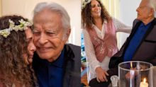 """Cid Moreira sobre casamento: """"Nunca imaginei estar tão feliz aos 93 anos"""""""