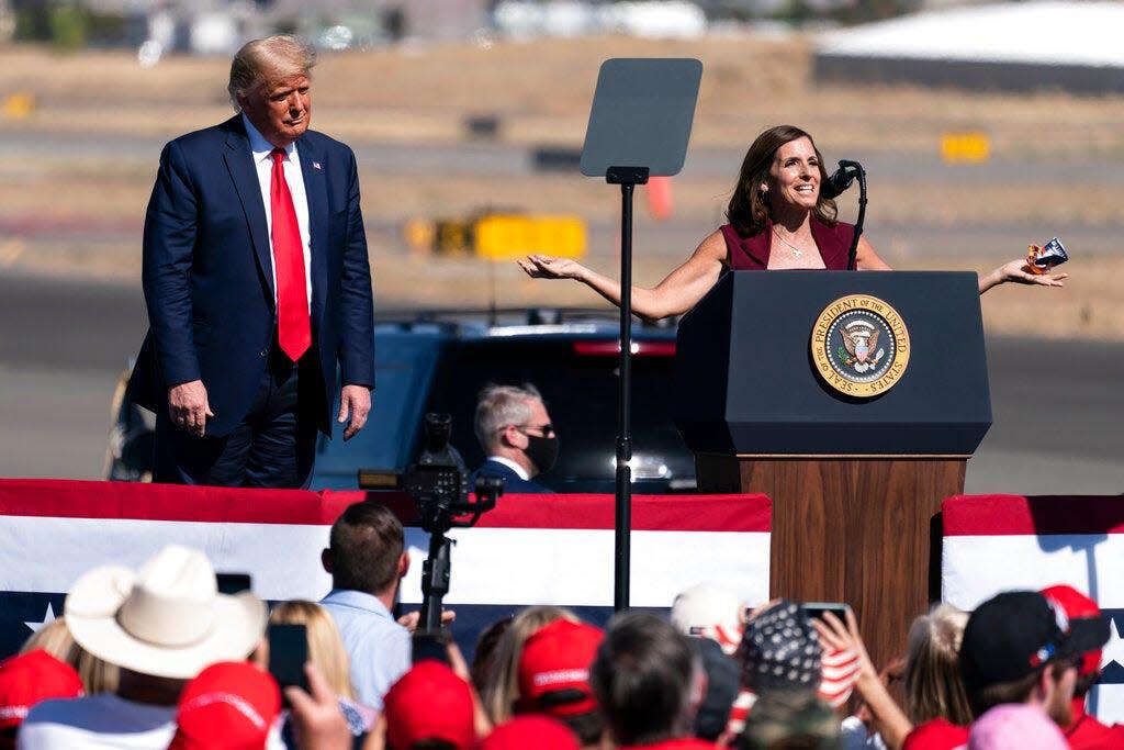 Sen. Martha McSally brushes off Trump's treatment at Arizona rally