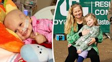 Family heartache as 2-year-old was diagnosed with cancer a year after her mum