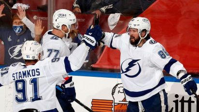Lightning strike first in Game 1 vs. Panthers
