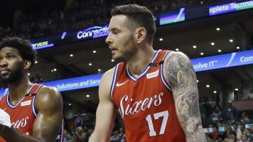 J.J. Redick says he found person in a car