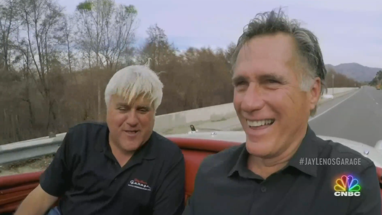 Mitt Romney explains how he got 6 speeding tickets on one trip