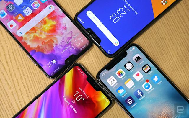 The smartphone notch is a status symbol