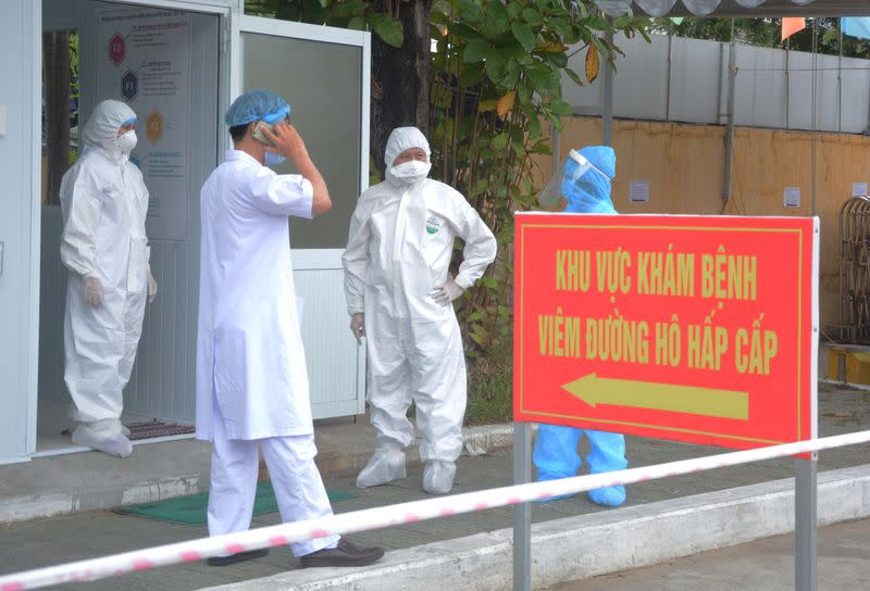 Vietnam's new COVID-19 outbreak started in early July - government
