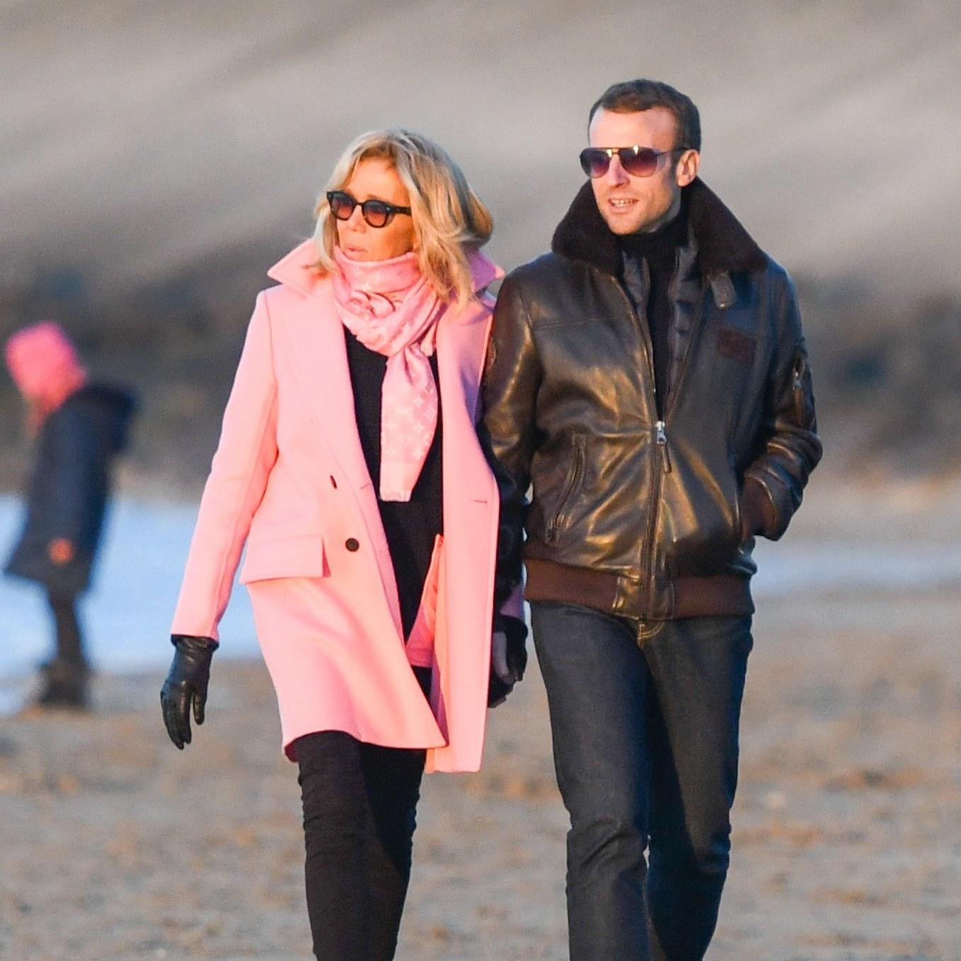 Brigitte and Emmanuel Macron Do Off-Duty Couples Style the ...