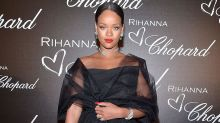 Rihanna Surprises in Glam Gown at Cannes Dinner Celebrating Her Jewelry Line