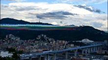Neue Autobahnbrücke zwei Jahre nach Brückeneinsturz in Genua eingeweiht