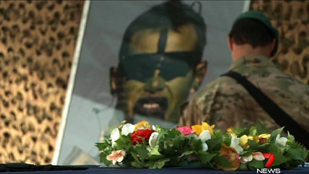 Cpl Baird remembered in ceremony
