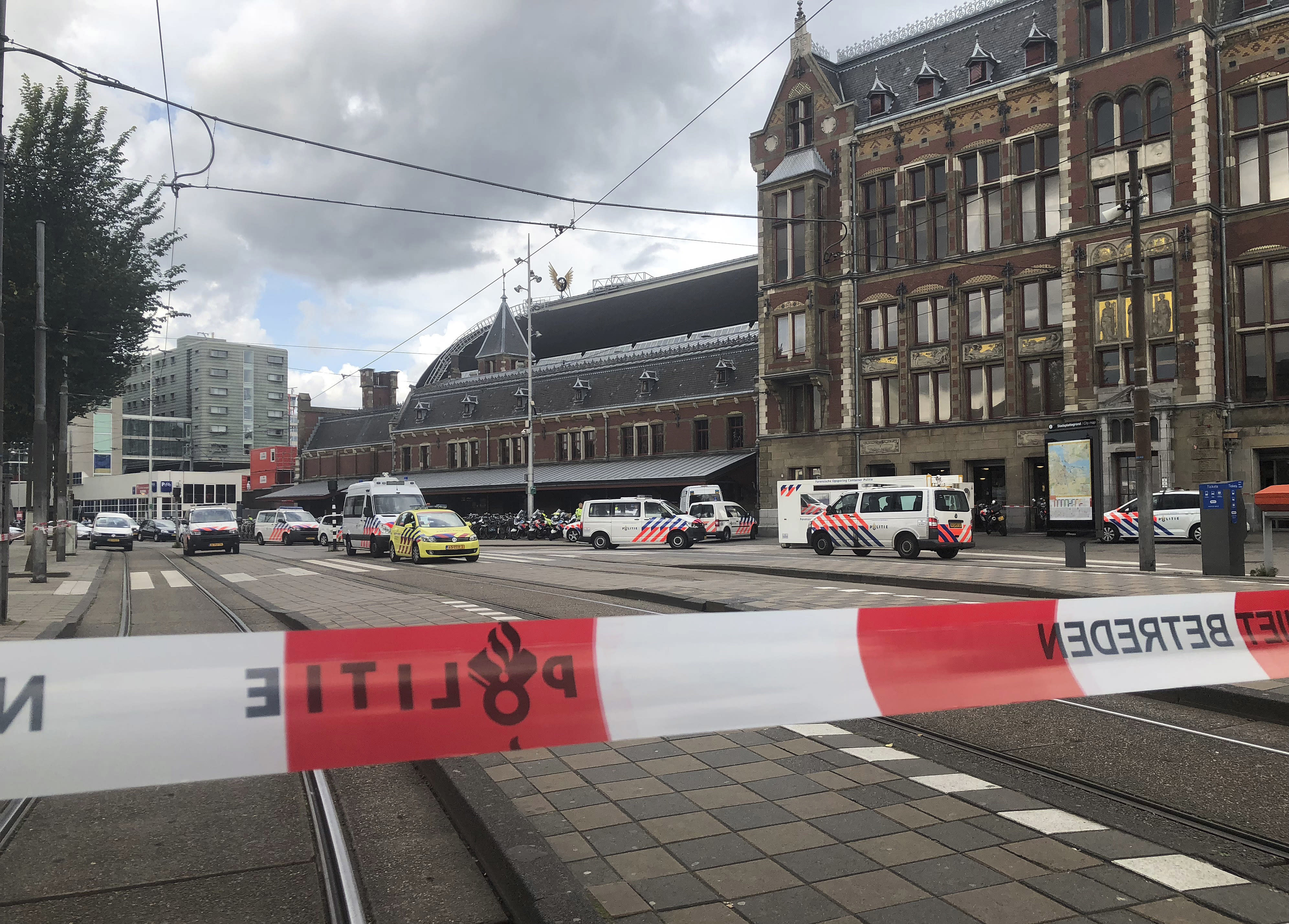 Dutch court upholds terror conviction in station attack