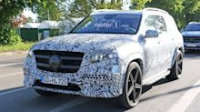 2020 Mercedes GLS caught enduring cold weather testing