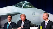 Trump wants Boeing to build stealth F-18s for a 'good price' — but they don't exist