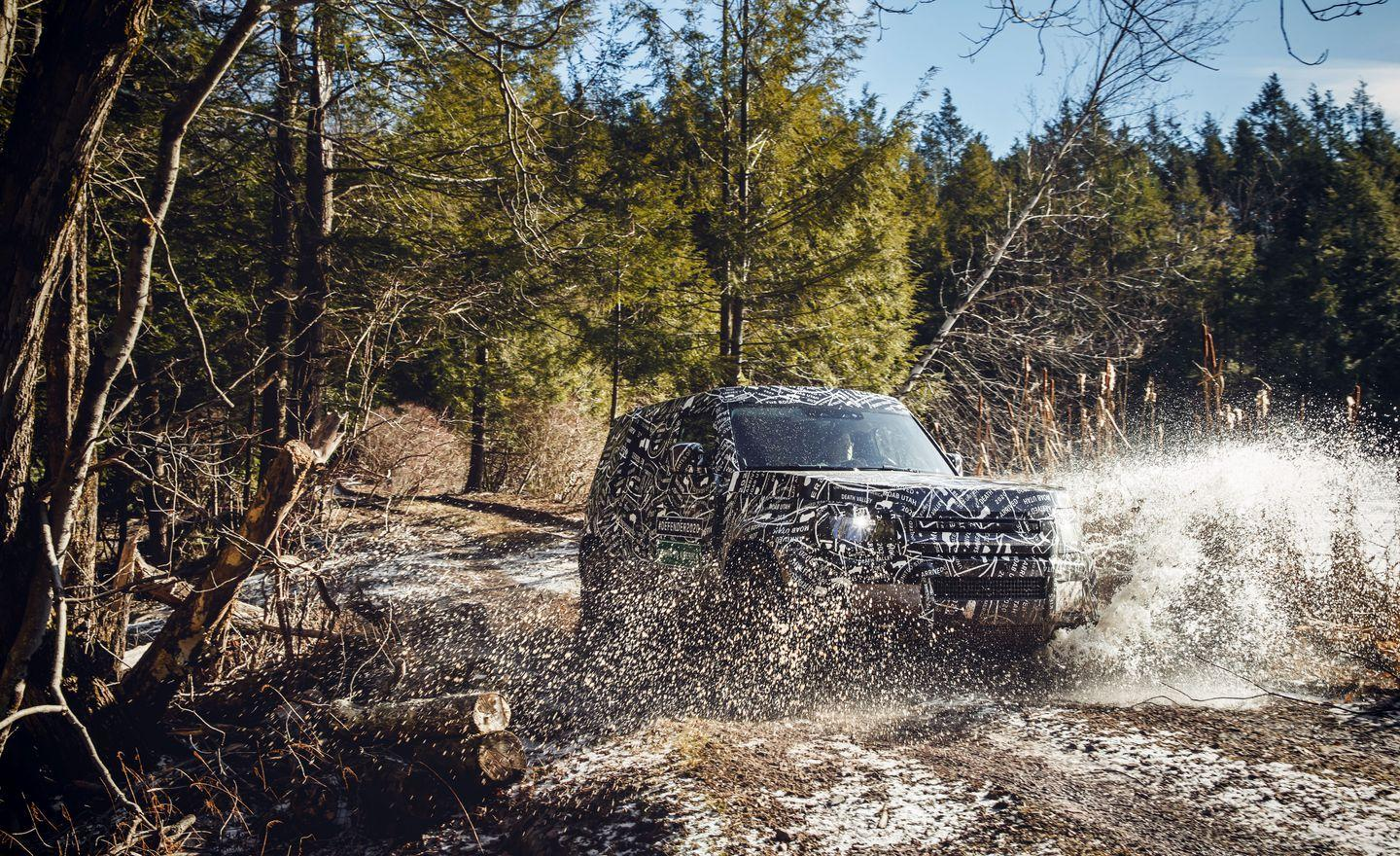 <p>Even bigger news: Land Rover also confirmed that the new Defender will be sold in the United States, making it the first Defender to be officially sold here since 1997.</p>