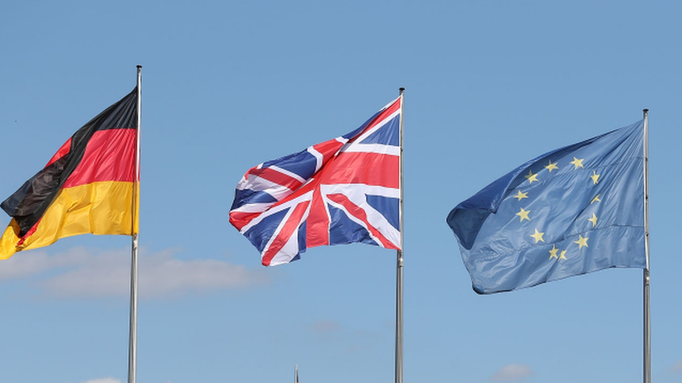 UK on course to drop from Germanys top 10 trading partners