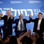 Netanyahu's strongest challengers form alliance for Israeli election