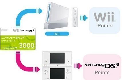 Nintendo Points non-transferable between Wii, DSi