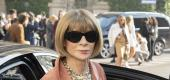 Anna Wintour at Milan Fashion Week. (Getty Images)