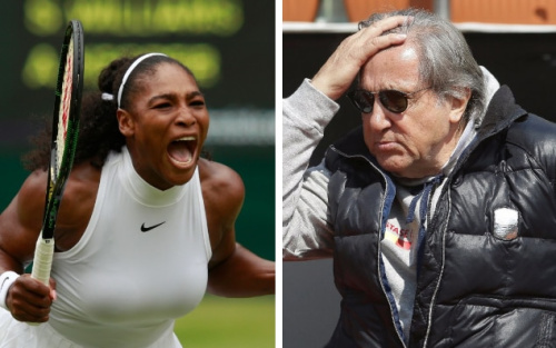 Serena Williams was deeply offended by Ilie Nastase's comment about her unborn child - pa