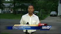 Child found in back yard pool in Raytown