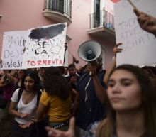 Puerto Rico protesters demand governor's resignation
