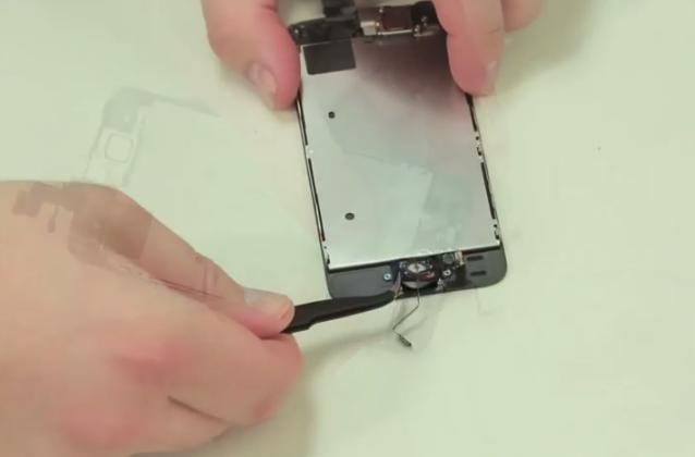 YouTube Find: Home repair of an iPhone 5s display