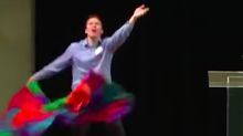 This Anti-Gay Interpretive Flag Dance May Be The Gayest Thing We've Ever Seen