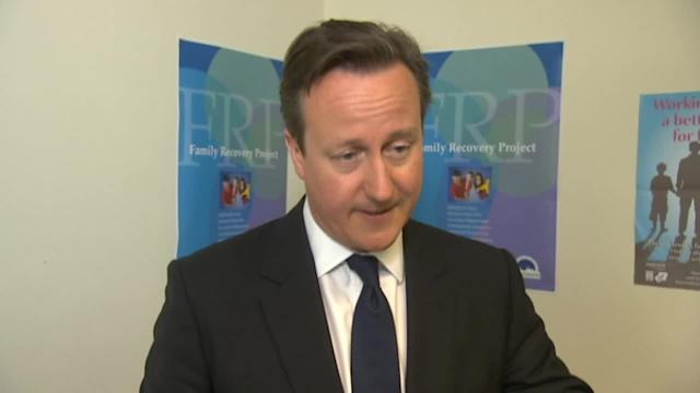 Cameron: No political interference in Adams arrest