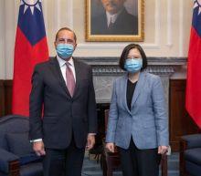 Trump administration antagonises China by sending cabinet member to praise Taiwan's democracy and coronavirus response