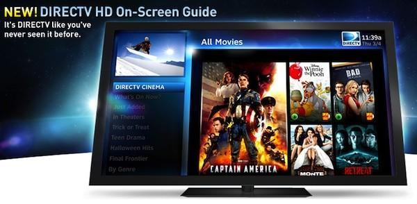 DirecTV shows off its new HD UI with a website and trailer, still no release date