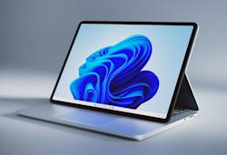 The Surface Laptop Studio transforms into an easel, because of course